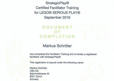Mein Zertifikat aus Hamburg